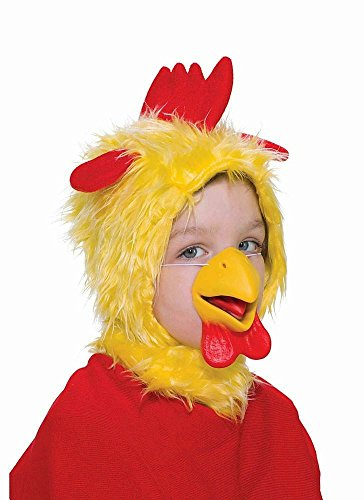 Wig Mask (Forum Novelties Child Size Animal Costume  Chicken Hood and Nose Mask)