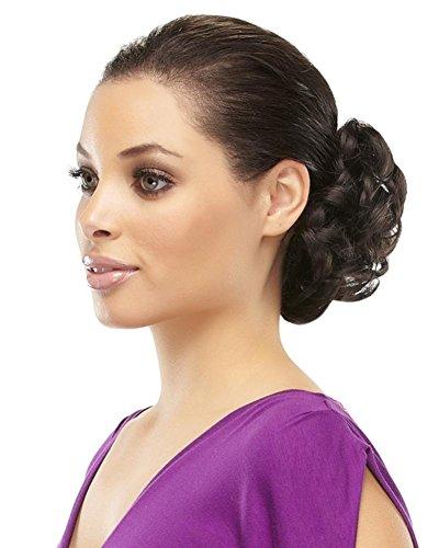 Funbun Curly Synthetic Hair Wrap Elastic Band Women's Hai...