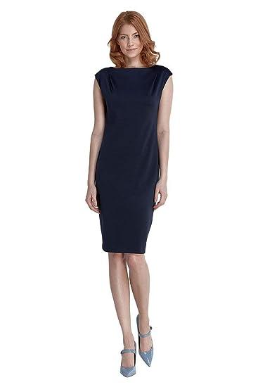 VictoriaV nife - Etuikleid Damenkleid Cocktailkleid Stretchkleid Ärmellos  Büro Freizeit  Amazon.de  Bekleidung f4329728f6