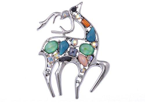 Deer Pin Brooch - 4
