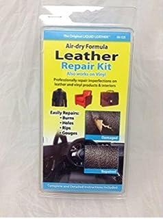 Genial No Heat Liquid Leather U0026 Vinyl Repair Kit Fix Holes Burns Rips Gouges
