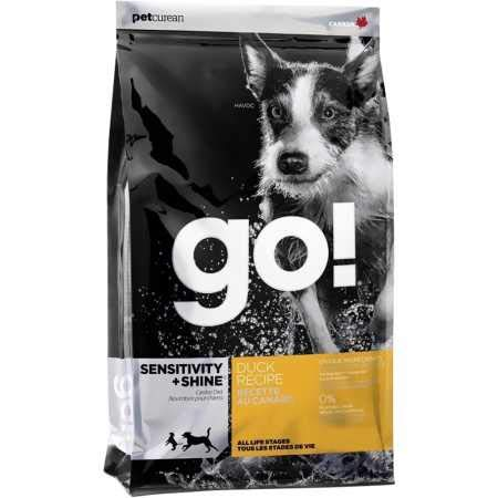 Petcurean Go Sensitivity + Shine Dog Food Duck (25 lb)
