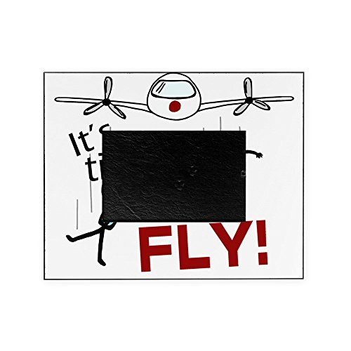 CafePress - Its Time to Fly - Decorative 8x10 Picture Frame (Airplane Frame Picture)