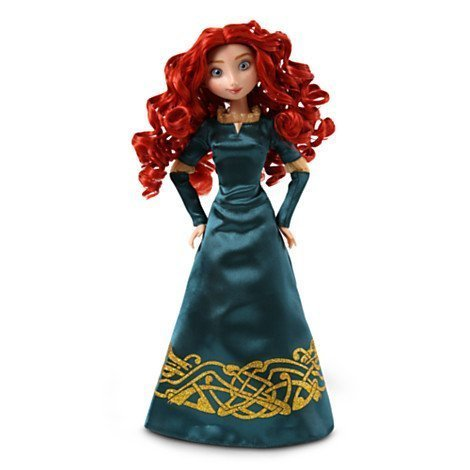 Disney Exclusive Brave Classic Merida 12 Inch Doll with Deluxe Satin -