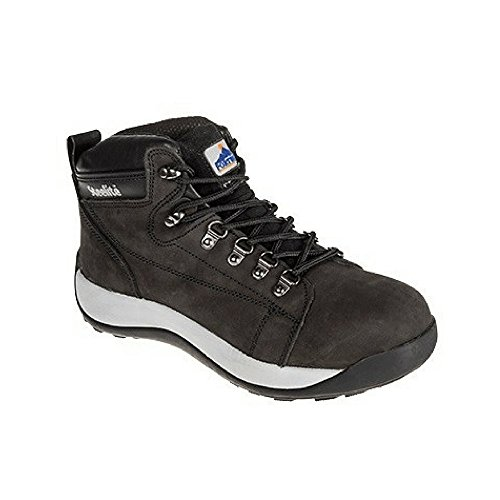 Portwest Fw31 Regular Steelite Mid Cut Nubuck Boot Di Sicurezza Sb44; Miele - Taglia 46 E 11