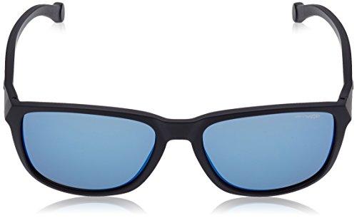 Black Sol de Straight Cut Arnette Matte 58 Gafas para Hombre wBI8tqx