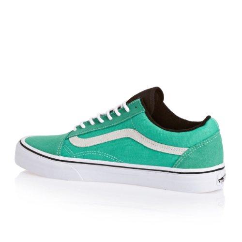 Vans Old Skool Shoes - (suede/canvas) Pool Green