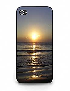 Cell Phone Back Case With Beautiful Sunset Theme fits iPhone 5 5S