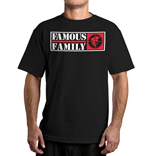 Herren T-Shirt FAMOUS STARS & STRAPS - Public Family - Black L