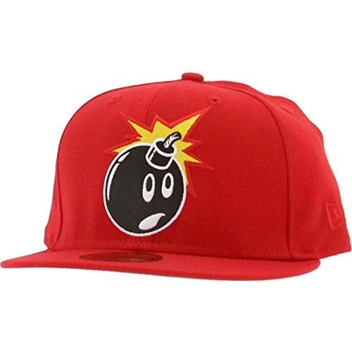The Hundreds Adam New Era Fitted Cap (red)