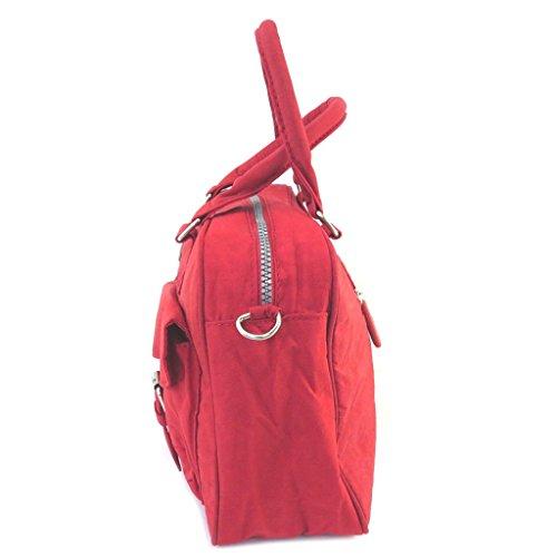 Creador bolsa enrico benetti rojo - 34x23x10 cm.