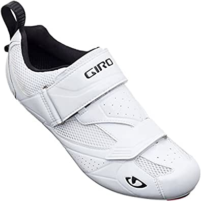Giro GF20180 Mens Mele Tri Road Shoes, White - 40