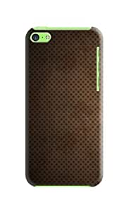 Brown mesh phone shell iphone 5c black case iphone 5c W Tong (Our products can DIY) Kimberly Kurzendoerfer