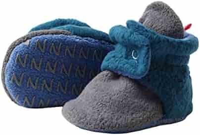 Zutano - Cozie Fleece Color Block Bootie With Grippers