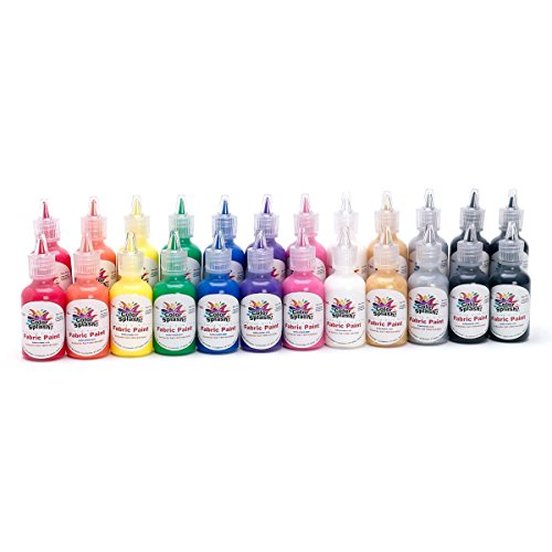 S&S Worldwide PT3298 Dimensional Fabric Paint (Pack of 24)