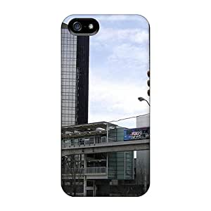Just GOGO Case For Iphone 5/5s With Nice Detroit Michigan Appearance