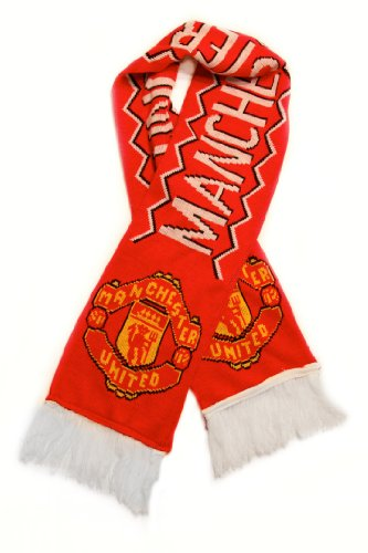 Manchester United FC | Premium Soccer Fan Scarf | Ships from USA