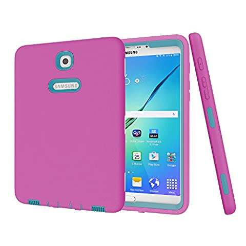 Galaxy Tab S2 8.0 Case,SinYong Fashion Hybrid Protective Heavy Duty Rugged Shockproof Drop Resistance Anti-slip Cover for 2015 Samsung Galaxy Tab S2 Tablet (8.0 inch, SM-T710 T715 T713) (Galaxy Note 2015 Tablet)