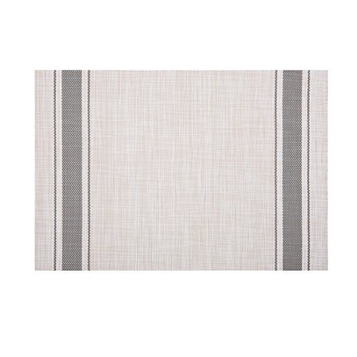 - Kaixiang PVC place mat,Placemats for Dining Table,Placemats,Heat-resistant Placemats, Stain Resistant Washable PVC Table Mats,Textilene fabric,Kitchen Table mats,Sets of 4