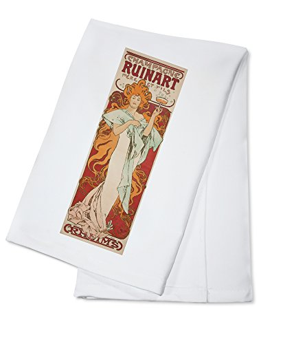 champagne-ruinart-vintage-poster-artist-mucha-alphonse-france-c-1896-100-cotton-absorbent-kitchen-to