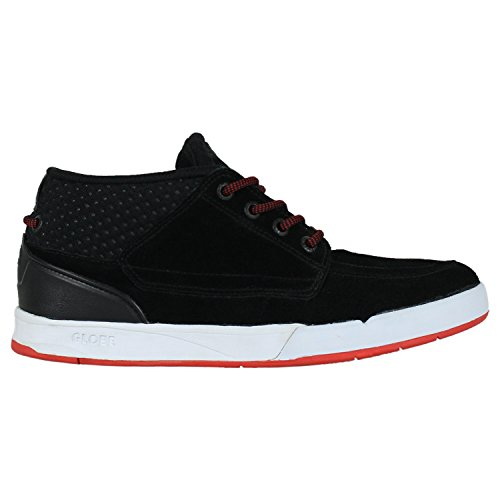 GLOBE Skateboard Shoes DUNCOME THE BENDER S2 BLACK/RED