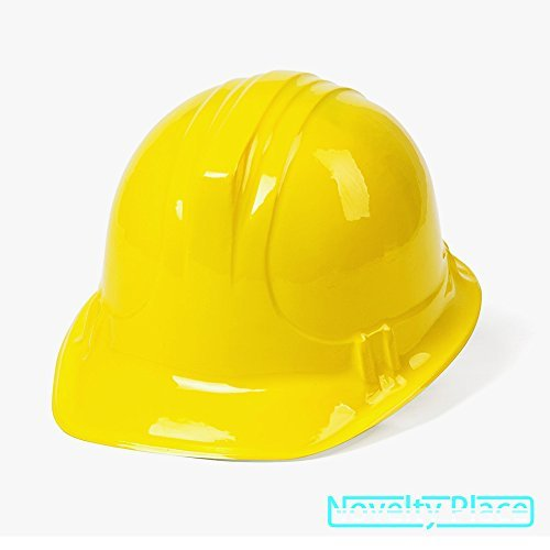 Plastic Construction Party Hats for Child (Pack of 48) -