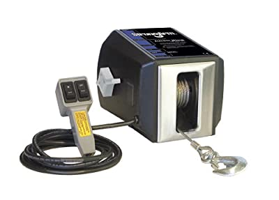 Dutton-Lainson SA9015AC Electric Winch with Built-In Remote 2700 lb
