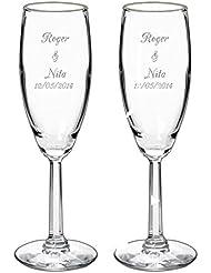 Amazon.com: Champagne Glasses: Home & Kitchen: Champagne Flutes ...
