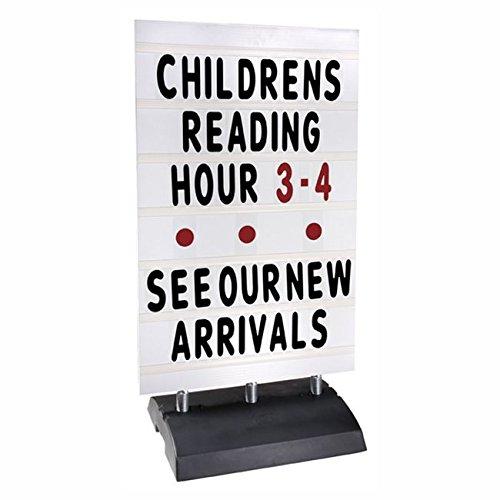 (XL Springer Sidewalk Message Board Sign)