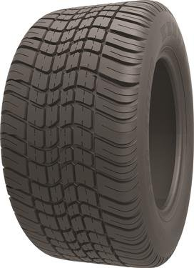 Americana 3H390 Kenda 205/65-10 Bias Trailer Tire with 10'' White Wheel by Americana
