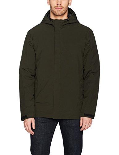 Mist Iris (32 DEGREES Men's Winter Rain Jacket Down Insulation, iris Leaf, XL)