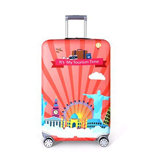 ZALING Travel Suitcase Protective Cover Luggage Case Travel Accessories Elastic Luggage Dust Cover 4 S