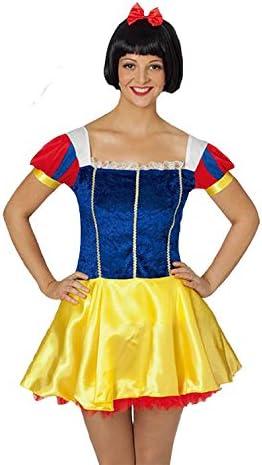El Carnaval Disfraz Blancanieves Mujer Adulto: Amazon.es: Juguetes ...