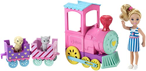 Barbie Club Chelsea Doll And Choo-choo Train Playset (Best Place To Sell Barbie Dolls)