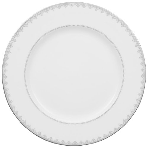 Villeroy and Boch White Lace Round Platter 32cm ()