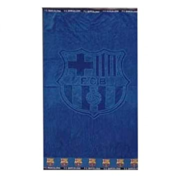 FC Barcelona Toalla (playa grande), azul): Amazon.es: Bricolaje y herramientas