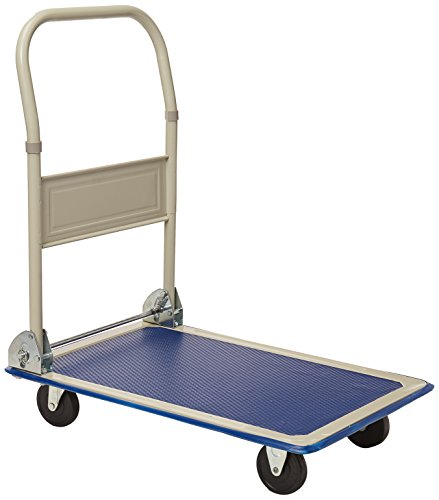 Giantex 330lbs Platform Cart Dolly Folding Foldable Moving Warehouse Push Hand Truck