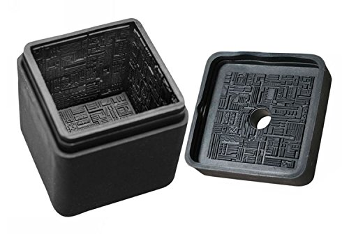 Diamond Select Toys Star Trek: The Next Generation: Borg Cube Silicone Ice Cube Tray (Trek Cube Borg Star)