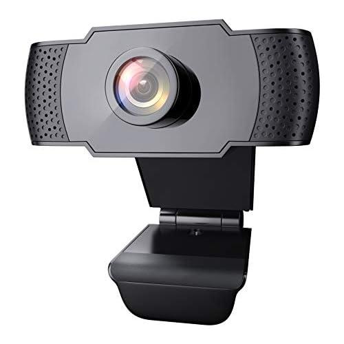 chollos oferta descuentos barato Wansview Webcam PC Full HD 1080P con Micrófono Webcam Portátil para PC Webcam USB 2 0 Streaming Cámara Reducción de Ruido para Videollamadas Grabación Conferencias con Clip Giratorio