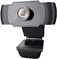 wansview Webcam 1080P mit Mikrofon, PC Laptop Desktop USB 2.0 Webkamera für Videoanrufe, Studieren, Konferenzen,...