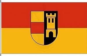 Bandera Banner Bandera País circular Heide doméstica–80x 200cm
