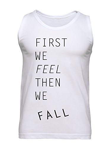 First We Feel Then We Fall Men's Tank Top