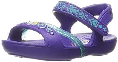 crocs Girls Lina Frozen Sandal Ultraviolet EU29.5