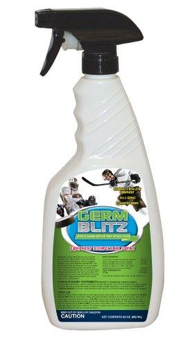Germ Blitz Liquid Disinfectant Spray Trigger Pump - Case of - Blitz Shoulder Pads