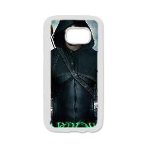 Custom Cover Case Fashion Green arrow Time For Samsung Galaxy S7 edge SXSEE948527