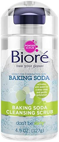 Facial Cleanser: Bioré Baking Soda Cleansing Scrub