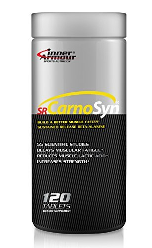 Inner Armour and SR CarnoSyn® Tablets | Sustained Release Beta-Alanine, Proven to Delay Muscle Fatigue | 120 Tablets