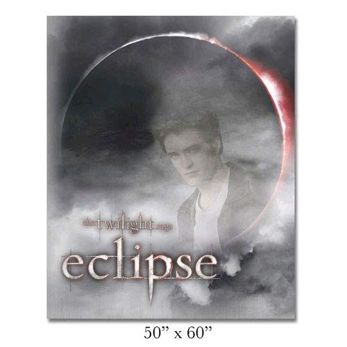 NECA Twilight Saga Eclipse Edward Fleece Blanket Throw
