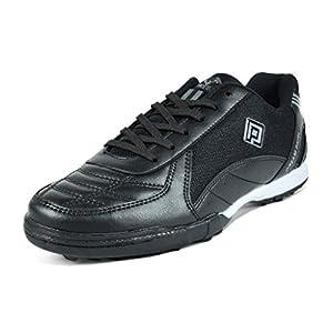 Dream Pairs Big Kid 160470-K Black Athletic Soccer Shoes - 5 M US Big Kid