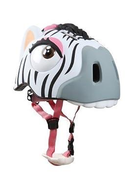 "Casco Infantil Ciclismo ""Zebra"" Diseño Zebra CRAZY Safety - Casco Infantil"